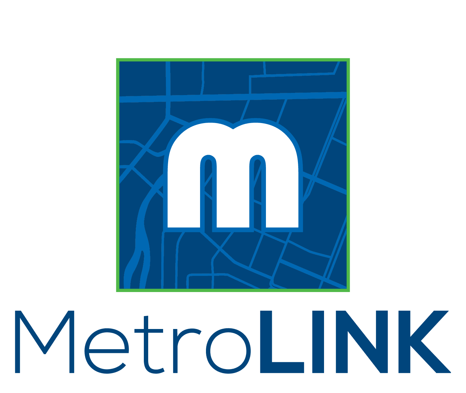 MetroLINK Logo - Vertical
